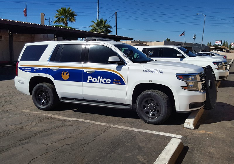 PHX PD 2015 Chevy Tahoe #511080 (ps)