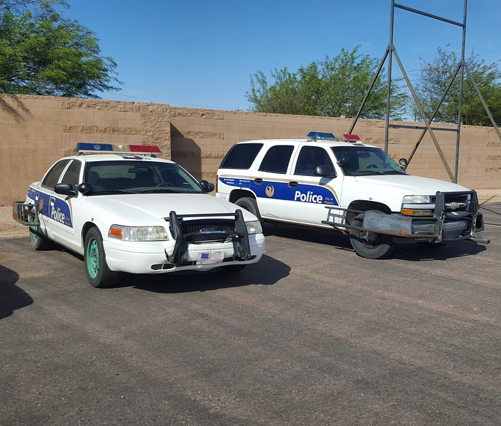 PHX PD pit cars