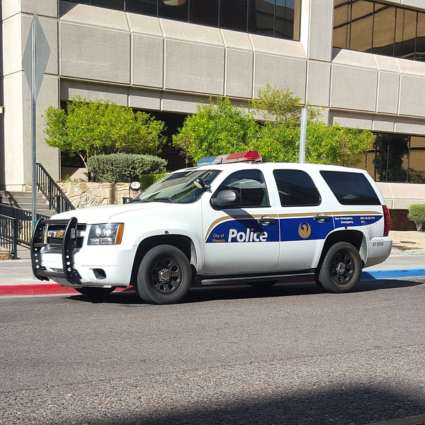 PHX PD 2008 Chevy Tahoe #811854