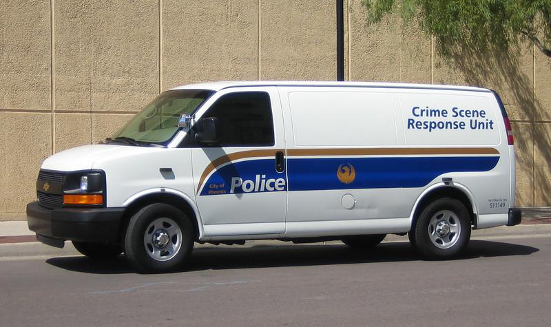 PHX Crime Scene Response Unit 2005 Chevy #511149