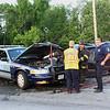 Leominster Firefighters on scene of the crash<br /> <br /> Photo Scott LaPrade