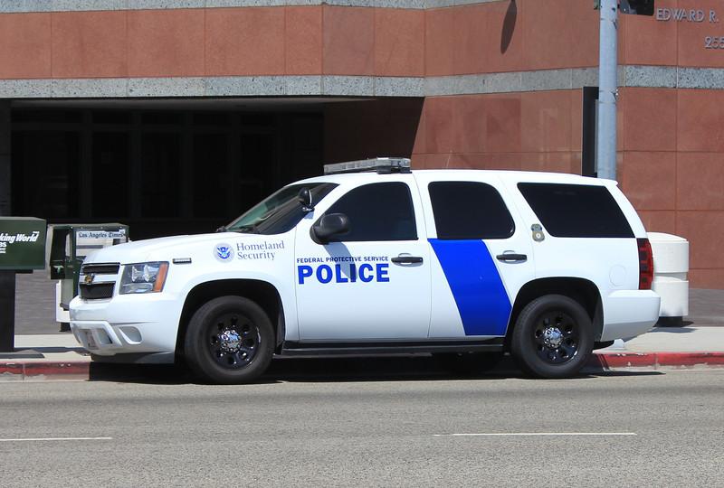 Homeland Security Chevy Tahoe (LA) a