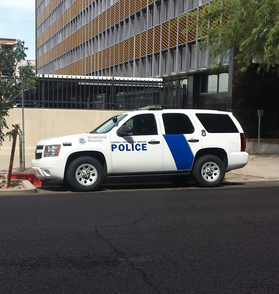 Homeland Security Chevy Tahoe a
