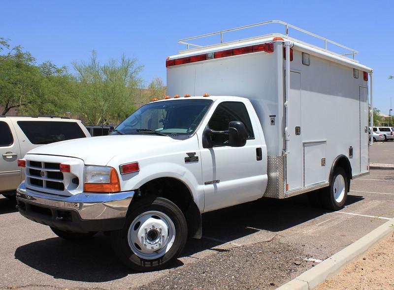 US Border Patrol Ford F450 Wheeled Coach