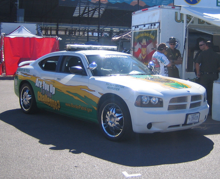US Border Patrol Recruitment Officer Dodge Charger