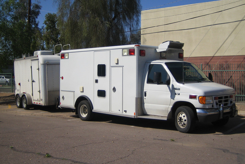 Homeland Security Ford E450 Wheeled Coach