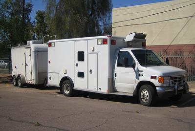 Homeland Security Ford E450 Wheeled Coach