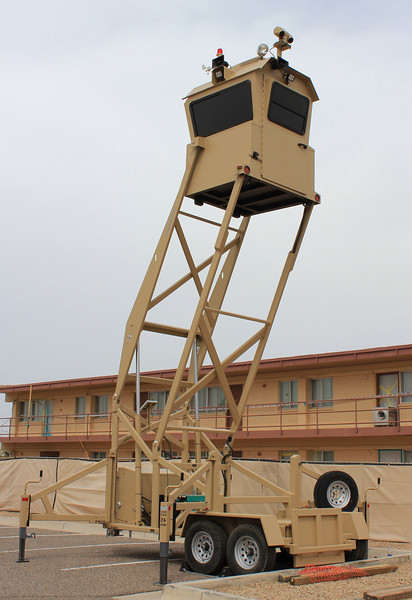 Luke Air Force Base Mobile Watch Tower