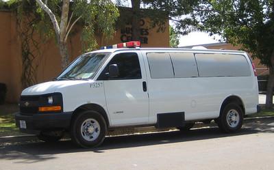 US Immigration P3257 Chevy 3500 Van