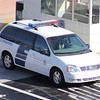 US Customs & Border Protection Ford van