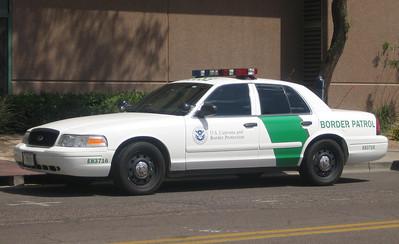 US Border Partrol Ford Crown Victoria #E83716