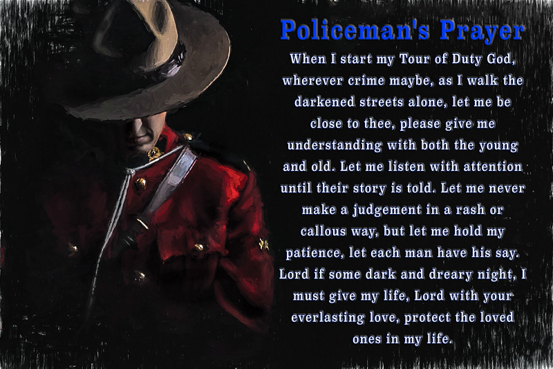 Policeman's Prayer