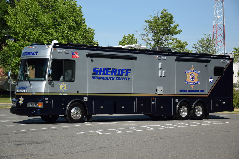 Monmouth County Sheriff's Office Mobile Command Unit