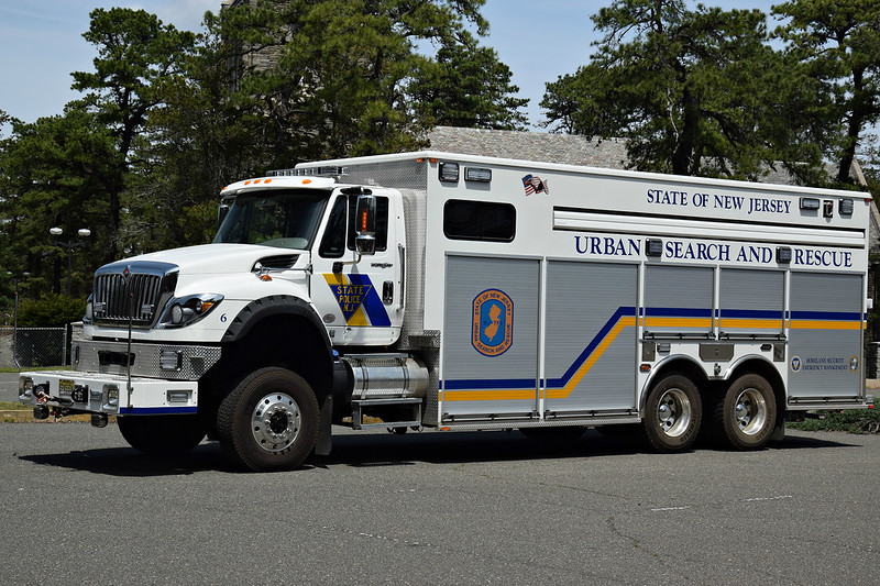New Jersey State Police Task Force 1, Truck 6