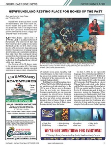 Co-authored article in Midwest Dive News (September 2008 Issue)