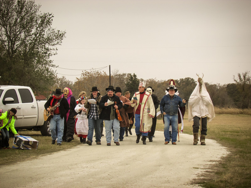 Polish Koledy Polish Christmas Carolers In Bremond Texas