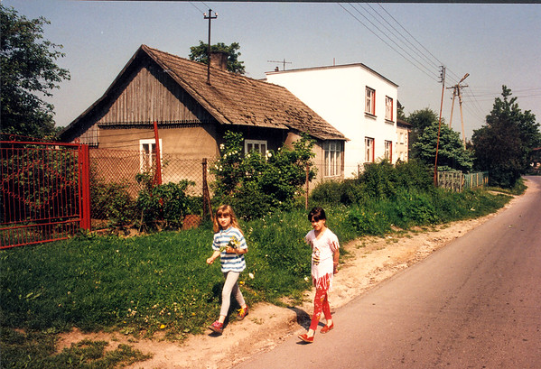 "GAWRZYLOWA - ""Downtown"" of the village, close to the main highway #4. East side of the village."