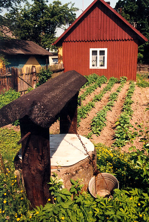 GAWRZYLOWA - A fresh-water well, small private garden and part of a farm on the east side of the village.