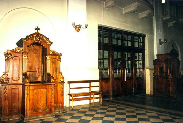 DEBICA - Rear of the Catholic Church.