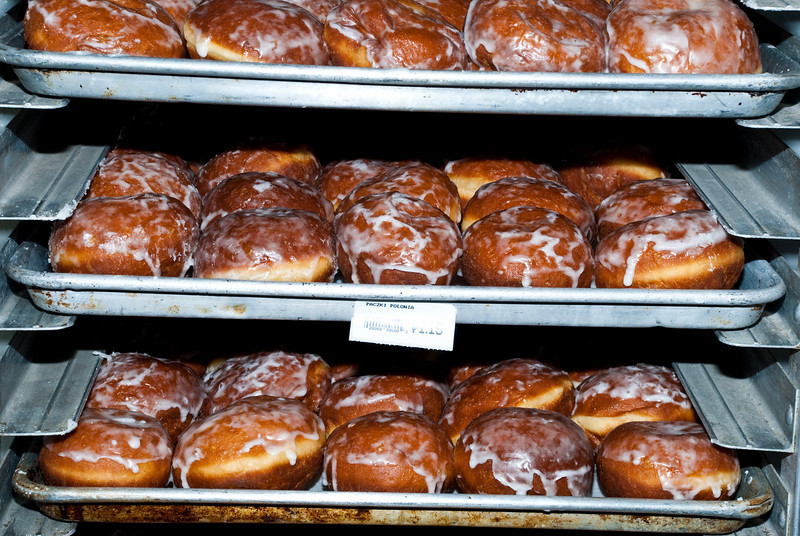 Lots of pączki for Fat Thursday