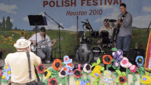 Dancing At The 4th Annual Houston Polish Festival.  4th Annual Polish Festival Houston, Texas May 1, 2010