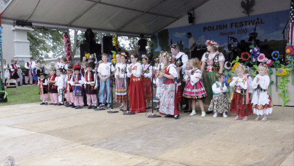 Our Lady Of Czestochowa Youth Performing at the 4th Annual Houston Polish Festival.  4th Annual Polish Festival Houston, Texas May 1, 2010