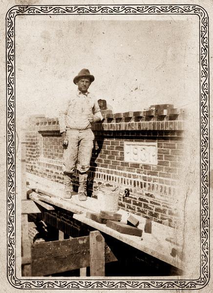 Henry Syzdek - builder of John Bielomowicz store