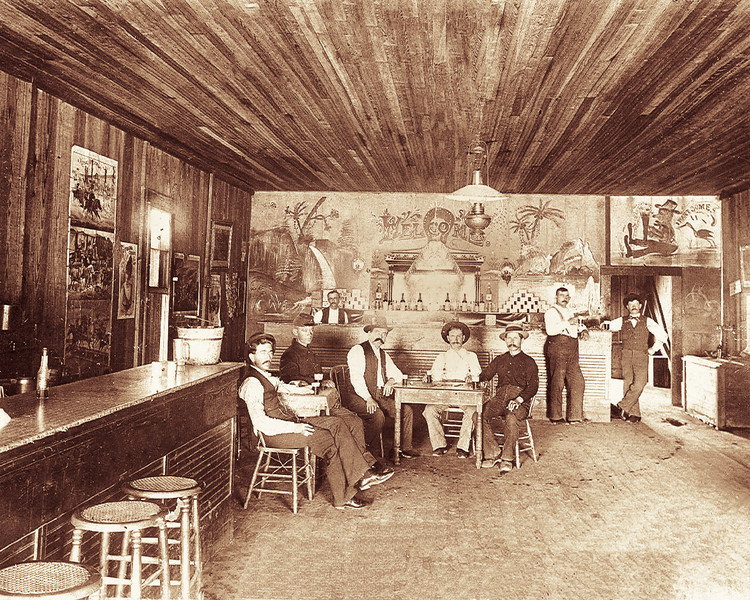 B.S. Kotch Saloon 1896