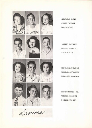 1948 Bremond High School Yearbook