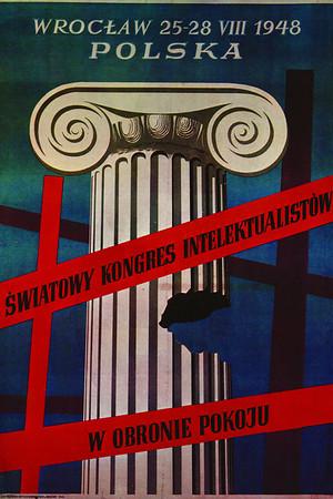 World Congress of Intellectuals in defence of peace, Wroclaw <br /> <br /> (Światowy Kongres Intelektualistów w obronie pokoju, Wrocław), 1948<br /> <br /> Tomaszewski, Henryk