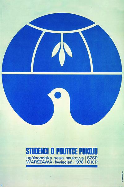 Students on peace policies, Warsaw 1978 (Studenci o politzce pokoju, Warszawa 1978 r.)<br /> <br /> Waszewski, Zbigniew