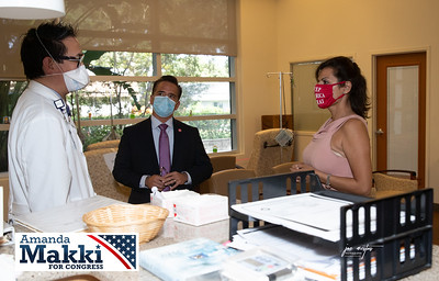 Amanda Makki Congressional Candidate for District 13 attended an event at  the Florida Cancer Specialist and Research Center in Largo FL. The event was hosted by Dr Mike Diaz. Special guest via digital media was US Congressman Michael C Burgess, 26th District of Texas, who is the Top Republican on the Healthcare Subcommittee.  He discussed why Amanda's background is so important as a future representative of Pinellas County.   Visit Amanda's web site at: https://www.amandamakki.com/ as well as on Facebook at:  https://www.facebook.com/MakkiForCongress/  Both in understanding as a healthcare lawyer and someone who got her start in healthcare in a doctors offices. Amanda's  experience is invaluable to help veterans and other members our our community here in Florida District 13.  Photos by: Event & Sports photographer Joe Mestas www.joemestas.com