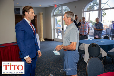 Matt Tito for State House Event at St Pete Yacht Club in St Petersburg  on 9/22/2020 Matt is working hard to flip the Florida State House District 68 to get more get more Republican representatives in Tallahassee. Matt is a military veteran who served as a captain in the US Marine Corps.   Photos by: Joe Mestas onthegulf@gmail.com