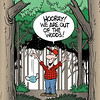 Out of the woods?