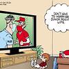 Bruce Plante Cartoon: Masks in baseball