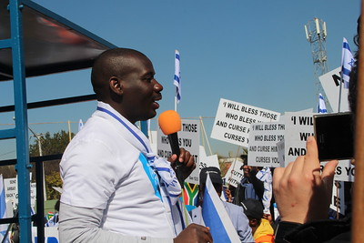 2018-07-27 Friends of Israel March Pretoria