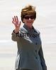 1st Lady Laura Bush Wave