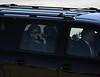 1st Lady Laura Bush motorcade