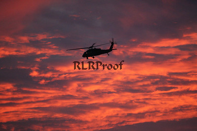 Marine One Sunset in Waco Texas (5)