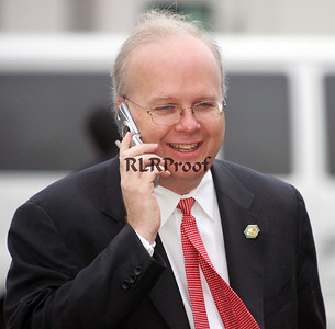 Karl Rove Calling in The Victory on election day 2004