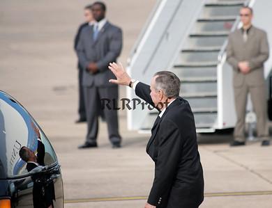 President George HW Bush Reflection AF1