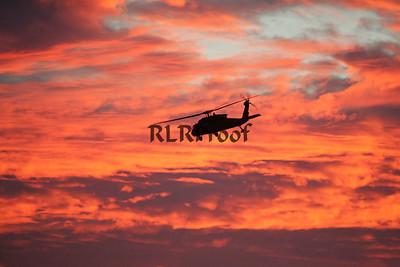 Marine One Sunset in Waco Texas (4)