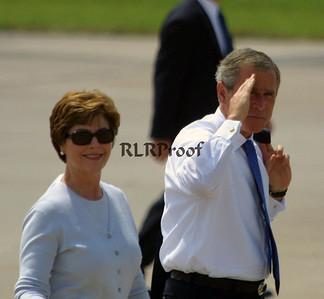 President George W Bush Salute