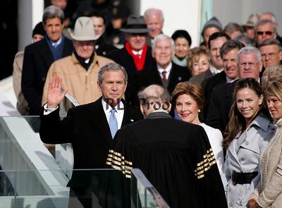 President George W Bush 2004 Inauguration Swear In