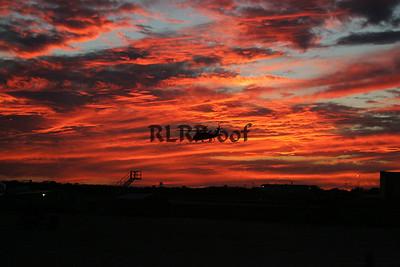 Marine One Sunset in Waco Texas (2)