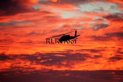 Marine One Sunset in Waco Texas (6)