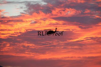 Marine One Sunset in Waco Texas (3)