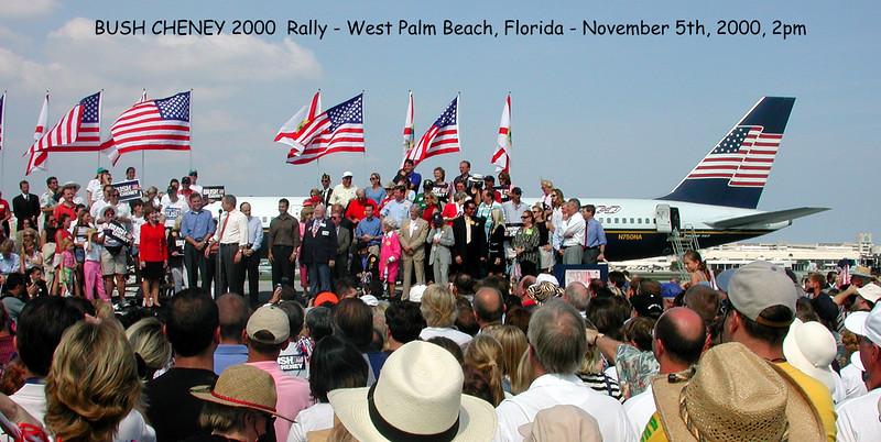 Bush Rally WPB 5nov00-G 12 inch Captioned 300dpi DSCN1882 copy