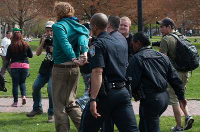 GBLTQ/Occupy counter-protest at Tea Party Rally, Boston Common 2012