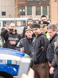 Occupy Boston April 1, 2012